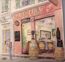 Le Truc. bar à vin. Nice