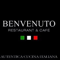 Benvenuto. Restaurant Italien, Café. Nice