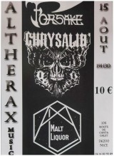 Rock & Metal : Malt Liquor / Chrysalid / Forsake