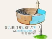 le Théâtre du Fort Antoine. Théâtre plein air. Monaco