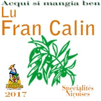 Lu Fran Calin. Restaurant niçois. Vieux-Nice