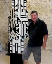 Atelier MICHEL BISBARD. Galerie. Saint-Paul de Vence