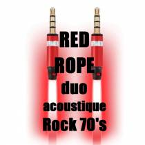 Red Rope. Groupe musical duo acoustique rock. Bouyon