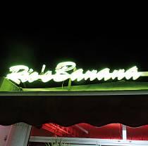Le Rio's Banana Café. Restaurant, Lounge Club. Golfe-Juan