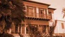 La Villa le Roc Fleuri. Centre Culturel. Cap d'Ail