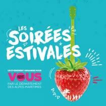 Soirées Estivales et évènements culturels  du Conseil Départemental. Festival. Alpes-Maritimes